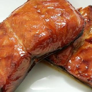 Air-Grilled Honey-Glazed Salmon Recipe