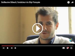 Guillaume Gibault fondateur du Slip français