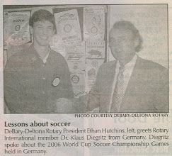 Photo: Ethan and Klaus  in the December 4-6, 2006 edition of The Beacon