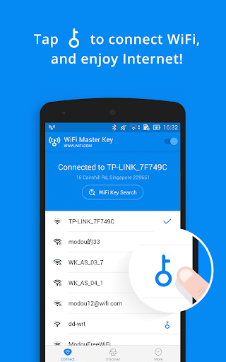 WiFi Master Key - by wifi.com  screenshots 3