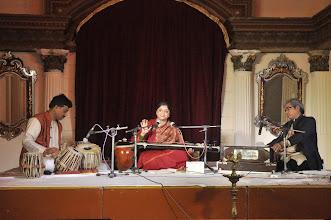 Photo: Soz e ghazal concert, with Tansen Shriwastava on tabla and Sh. Indu Prakash Trivedi on harmonium