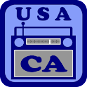 USA California Radio icon