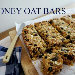 Pantry Staple – Honey Oat Bars.