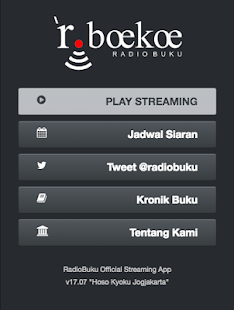 Radio Buku Official Streaming- screenshot thumbnail