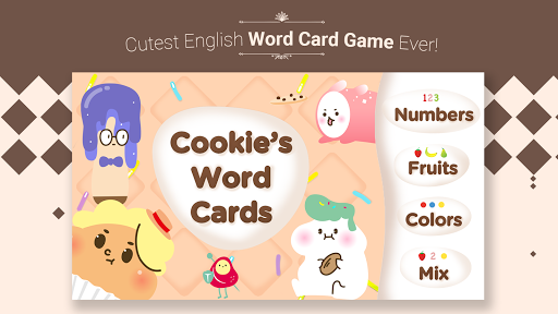 Cookie's Word Cards -Eng learn