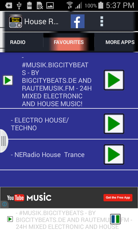 House Radio- screenshot
