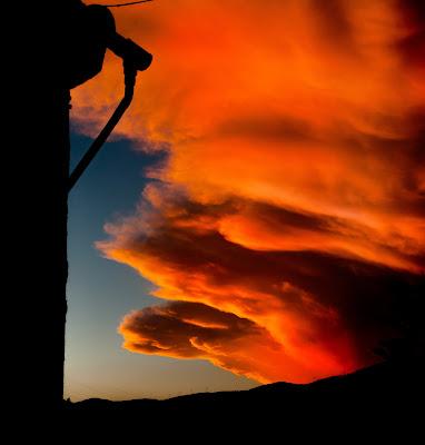 Nuvole serali Orange di renatoxxx