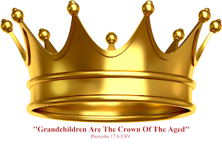 Photo: ''Grandchildren Are The Crown Of The Aged'' Proverbs'' 17:6 ESV. Image ~ Gold Crown