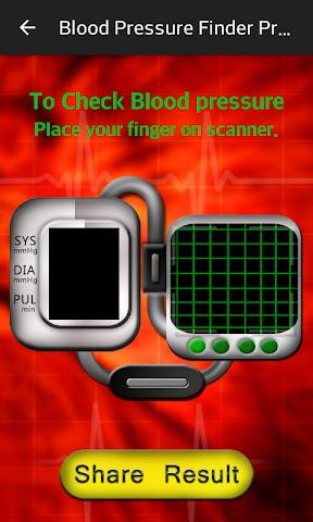 android Blood Pressure Finder Prank Screenshot 2