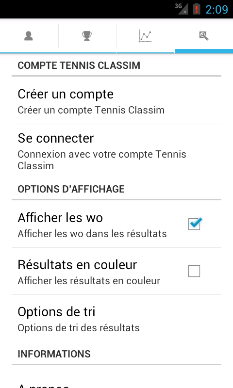 Tennis Classim- screenshot