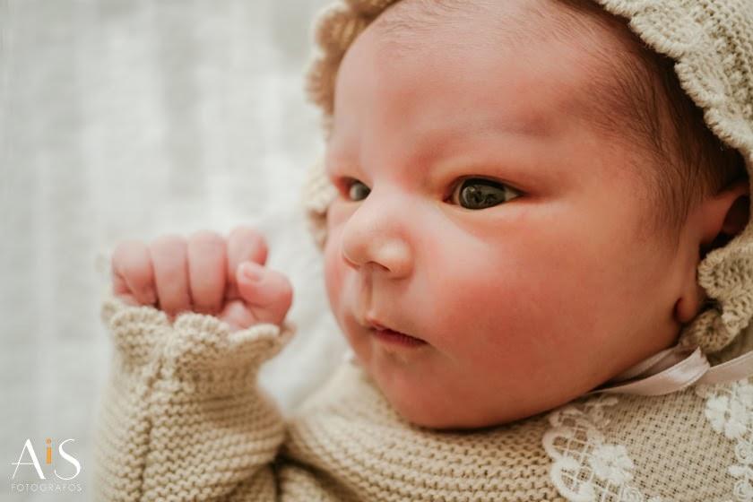Reportaje de recién nacido en hospital