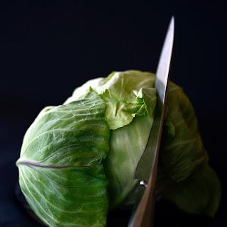 Roasted Cabbage Wedges With Garam Masala