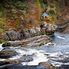 River of Falls by Chris Boulton - Landscapes Waterscapes ( water, nature, waterscape, scenery, landscape, rocks, river )