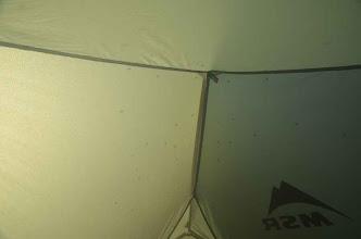 """Photo: das zweite Nisutlin Camp: ordentlich """"vermückt"""""""