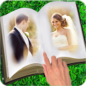 Book Dual Photo Frame icon
