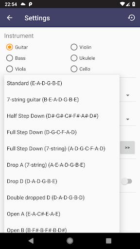 Strobe Guitar Tuner Pro screenshot 6
