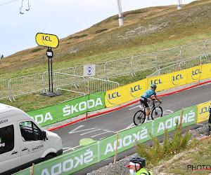 Zuur einde van de Tour: Debusschere komt buiten tijd aan op Col de la Loze en kan kopman niet bijstaan in Parijs