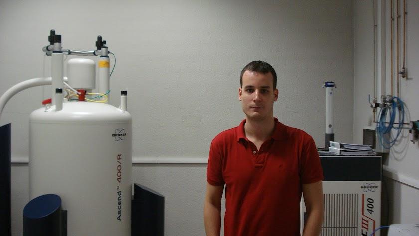 Juan Carlos Muñoz, en el laboratorio.