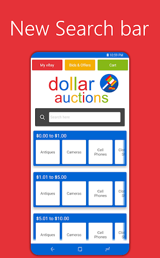Dollar Auctions -  Deal Finder 30000.0 screenshots 1