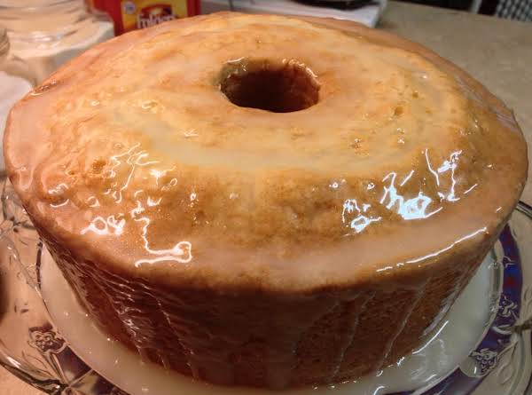 Sour Cream-buttermilk Pound Cake