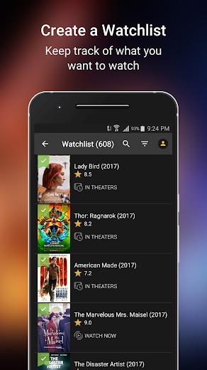 Screenshot 4 for IMDb's Android app'