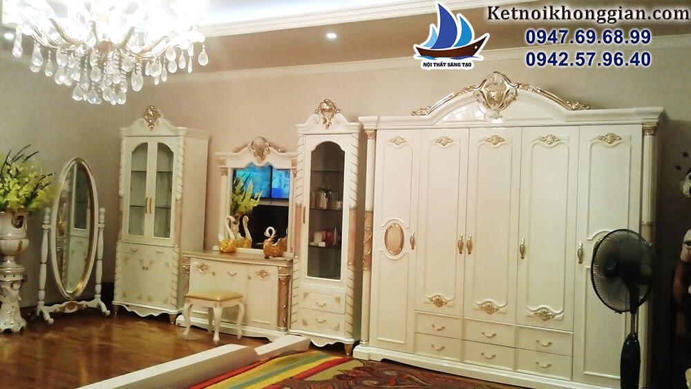 thiết kế nội thất phòng ngủ đẳng cấp