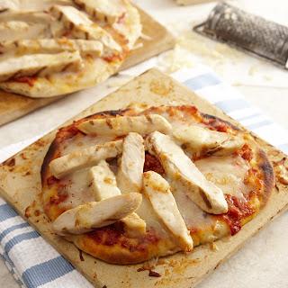 Chicken Marinara Pita Pizzas