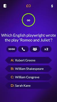 Millionaire 2018 - Trivia Quiz Online for Family apk screenshot