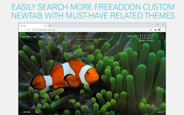 Clownfish Wallpaper HD Clownfish New Tab