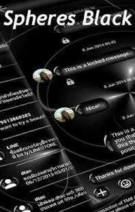 Blk Sphere SMS Zprávy - náhled