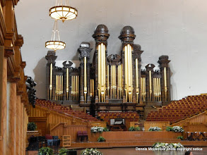Photo: Pipe organ in Tabernacle