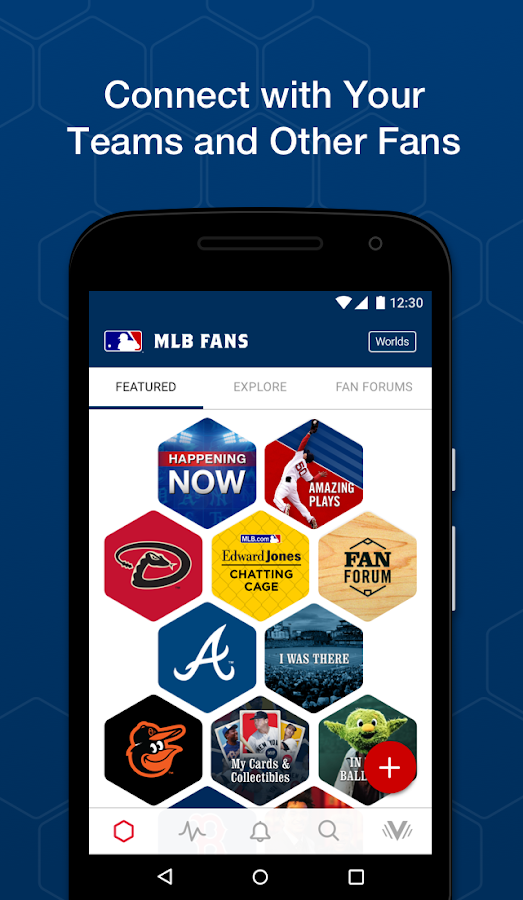 MLB Fans- screenshot