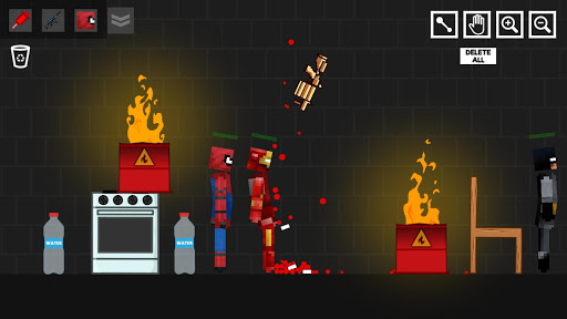 Spider Ragdoll Playground: Iron Human 1.0.5 screenshots 1