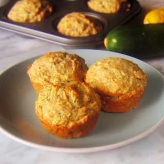Healthy Zucchini Coconut Muffins