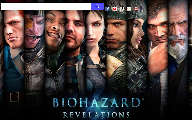 Resident Evil Game HD Wallpapers New Tab