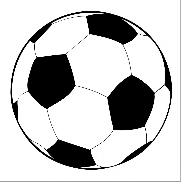 Soccer Ball, Football, Black,