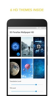 3D Parallax Live Wallpaper- screenshot thumbnail
