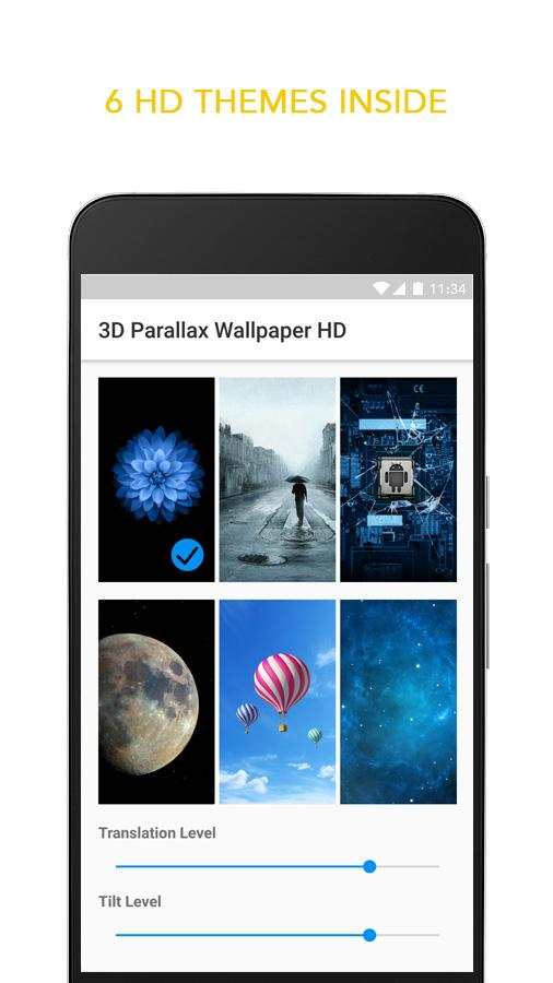 3D Parallax Live Wallpaper- screenshot