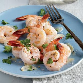 Twice-Cooked Garlic and Butter Shrimp.