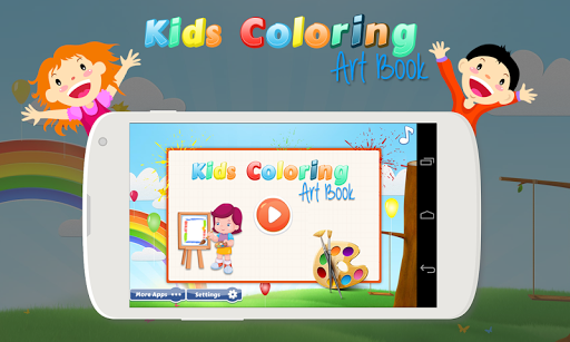 Kids Coloring Art Book
