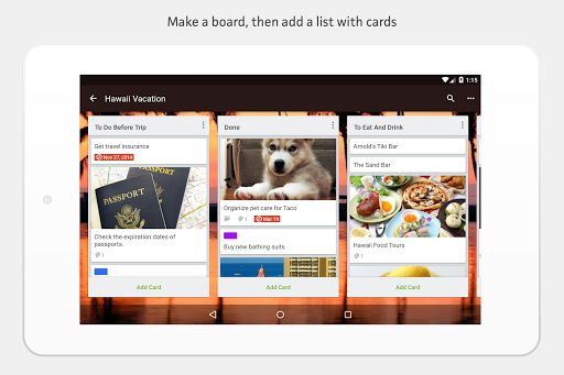 Screenshot for Trello — Organize anything with anyone, anywhere! in United States Play Store