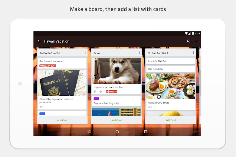 Screenshot 12 for Trello's Android app'