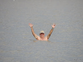 Photo: Jim! Never too old for a swim!