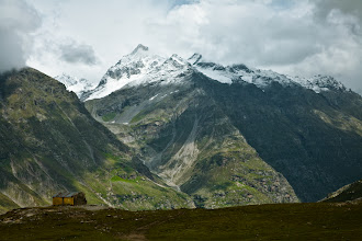 Photo: Rohtang La, Manali-Leh Highway, Himachal Pradesh, Indian Himalayas. The title is from the novel Kim by Rudyard Kipling. In the novel, the main charachter describes Rohtang La with these words.