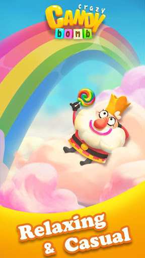 Crazy Candy Bomb - Sweet match 3 game apkdebit screenshots 6
