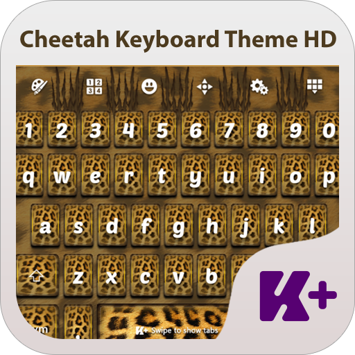 个人化のCheetah Keyboard Theme HD LOGO-記事Game