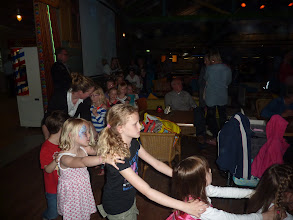 Photo: May 2013: Kids Disco at vacation park Centerparcs Meerdal in America (NL)