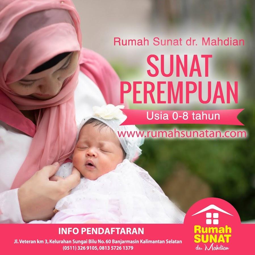 Rumah <a href='https://banjarmasin.tribunnews.com/tag/sunat' title='Sunat'>Sunat</a> dr Mahdian