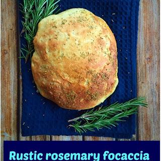 Rustic Rosemary Focaccia