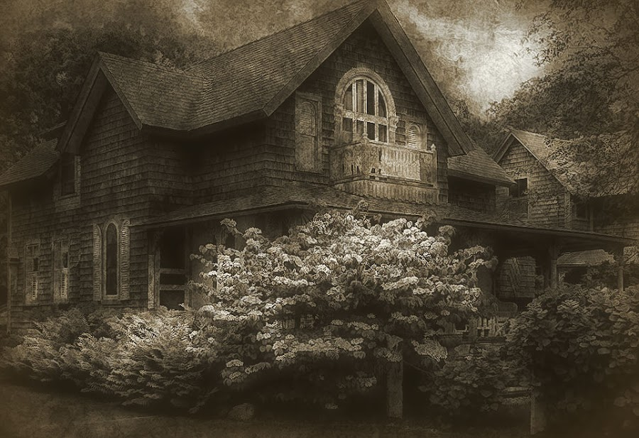 This Old House by Karen Tawater - Digital Art Places